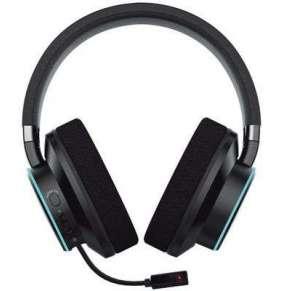 Creative SXFI AIR C headset, audiofil. slúchadlá na uši s odpojiteľným mikr., technol. holografického zvuku, USB, čierny