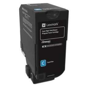 LEXMARK toner CS725 Cyan High Yield Return Programme Toner Cartridge