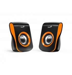 Genius Speakers SP-Q180, USB, Orange