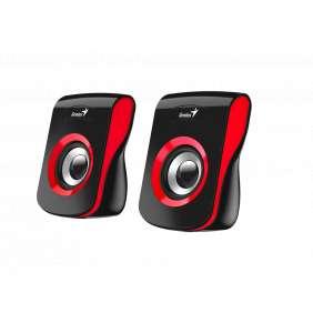 Genius Speakers SP-Q180, USB, Red