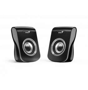 Genius Speakers SP-Q180, USB, Iron Grey