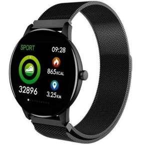 CARNEO Smart hodinky  SlickFit Oxygen+, Černé