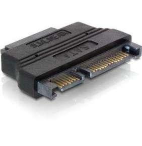 DeLock adaptér SATA 22pin samec -  Slim SATA  7+6pin samice