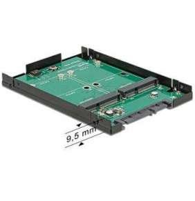 "Delock 2.5"" konvertor SATA 22 Pin   2 x mSATA s RAID"