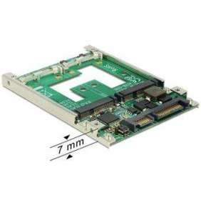 "Delock Konvertor 2.5"" SATA 22 pin   mSATA s RAID"