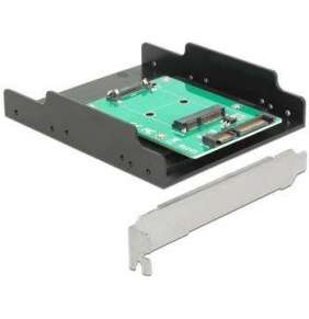 "Delock Converter SATA 22 pin   mSATA with Slot Bracket + 3.5"" Frame"