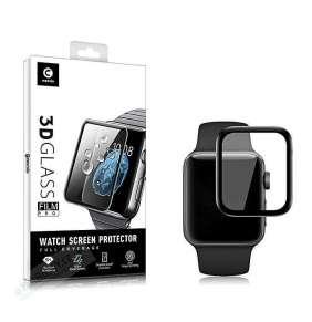Mocolo 3D Tvrzené Sklo Black pro Apple iWatch 1,2,3,4,5,6,SE 40mm