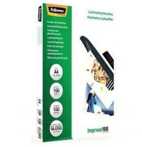 FELLOWES laminovací fólie/ formát A4/ 100 mic/ velikost 216x303 mm/ lesklé/ 100 pack