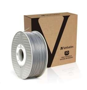 VERBATIM 3D Printer Filament ABS 1,75mm 1kg silver/metal grey (OLD PN 55016)