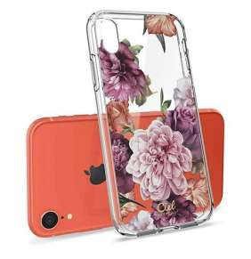Spigen kryt Ciel by Cyrill Cecile pre iPhone XR - Rose Floral