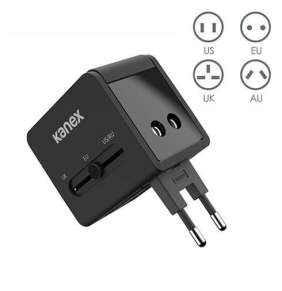 Kanex GoPower International Travel Adapter - Black