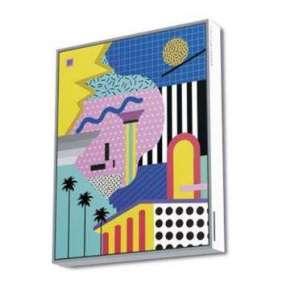 ENERGY Frame Speaker East Beach, Výkonný reproduktor zasazený do exkluzivního plátna s dřevěným rámem