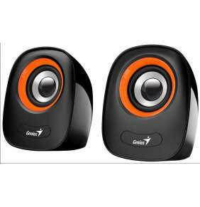 Genius Speakers SP-Q160, USB, Orange