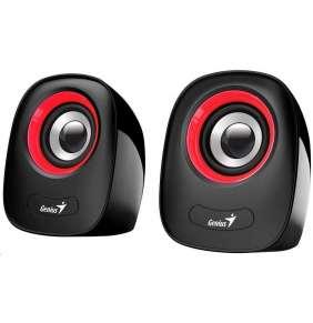 Genius Speakers SP-Q160, USB, Red