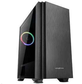 ABKONCORE skříň Cronos 750, Middle Tower, ATX, mini ITX + micro-ATX, black, bez zdroje