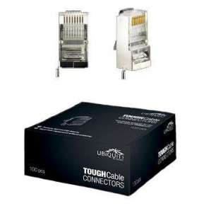 UBNT konektor STP RJ45 /Cat5e / 8p8c / drát/ pozlacený/ AWG24