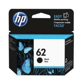 HP 62 Black Ink Cartridge, HP 62 Black Ink Cartridge
