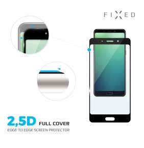 Sklo FIXED Galaxy A70s, plné lepení