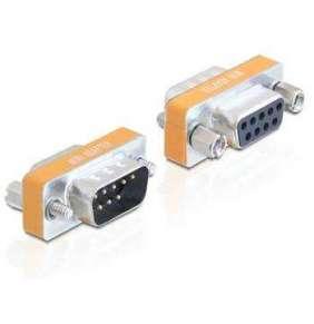 Delock adaptér Null Modem Sub-D 9 pin samec / samice