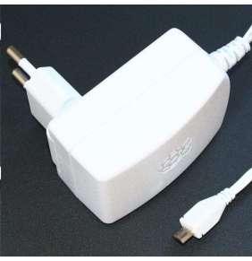 Raspberry Pi microUSB 5,1V 2,5A zdroj, EU/UK/AU/US, bílá