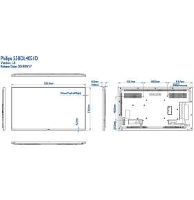 """55"""" E-LED Philips 55BDL4051D - FHD,450cd,AN,24/7"""