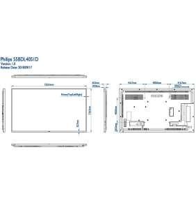 "55"" E-LED Philips 55BDL4051D-FHD,IPS,450cd,AN,24/7"