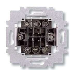 ABB přístroj spínače 6+6 (6+1) střídavý dvojitý