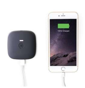 ZENS Portable Power Pack Black 5200 mAh - Wirelessly Rechargeable