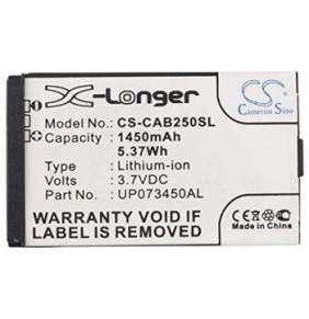 Baterie pro Caterpillar CAT B25 (ekv.UP073450AL) 1450mAh, Li-ion