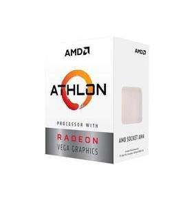CPU AMD Athlon 3000G, 2-core, 3.5GHz, 5MB cache, 35W, socket AM4, VGA Radeon Vega 3, BOX