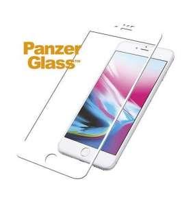 PanzerGlass ochranné sklo Friendly Case pre iPhone 8/7/6/6s - White frame