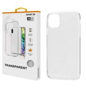 ALIGATOR Pouzdro Transparent Apple iPhone 11