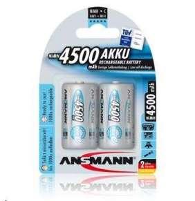Baterie - Ansmann maxE Baby NiMH 2xC 4500mAh (2ks/Blistr)