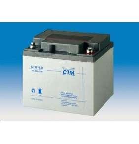 Baterie - CTM CT 12-38 (12V/38Ah - M6), životnost 5let