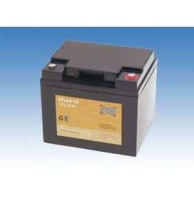 Baterie - CTM CTL 44-12 (12V/44Ah - M6), životnost 10-12let
