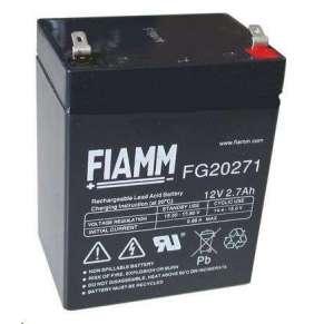 Baterie - Fiamm FG20271 (12V/2,7Ah - Faston 187), životnost 5let
