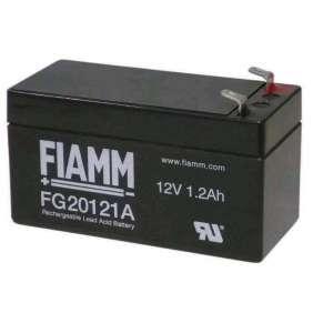Baterie - Fiamm FG20121A (12V/1,2Ah - Faston 187 - 48mm), životnost 5let