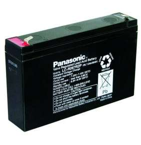 Panasonic LC-R067R2P (6V  7,2Ah  faston F1-4,7mm  životnost 6-9let)