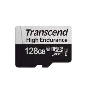 TRANSCEND MicroSDXC karta 128GB 350V, High Endurance