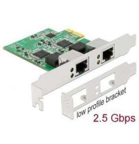 Delock PCI Express x1 karta na 2 x 2,5 Gigabit LAN