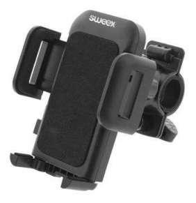 Sweex SWUSPBM100BK - univerzální držák telefonu na kolo, černý