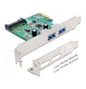 Delock PCI Express karta   2 x USB 3.0 +low profile
