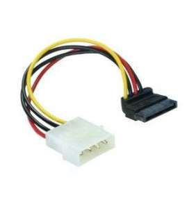 Power Adapter Molex na 1x SATA 15-pin kolmý dolů