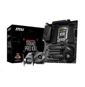 MSI TRX40 PRO 10G/ AMD TRX40 / TRX4 / 8x DDR4 DIMM / 2x M.2 / ATX