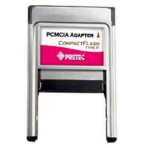 Pretec PCMCIA CompactFlash II adapter