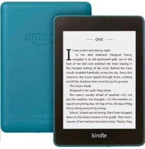 "AMAZON KINDLE PAPERWHITE 4 2018, 6"" 32GB E-ink displej, WIFi, BLUE, SPONZOROVANÁ VERZE"