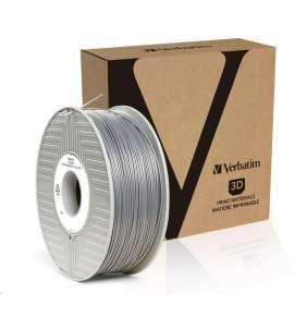 VERBATIM 3D Printer Filament PLA 1,75mm ,335m, 1kg silver/metal grey (55275)