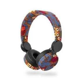 Nedis HPWD4101BK - Drátová Sluchátka   1,2m Kulatý Kabel   Na Uši   Sova   Černá