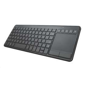 TRUST klávesnice Vaia Wireless Keyboard with large Touchpad