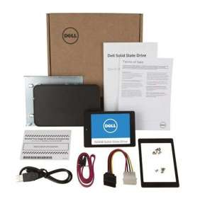 Dell 512 GB Internal Solid State Drive (SSD) Upgrade Kit for upgrading Dell Desktops and Notebooks - 2.5' SATA